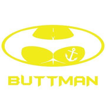 The Buttman Anchor Tatoo  by dezing