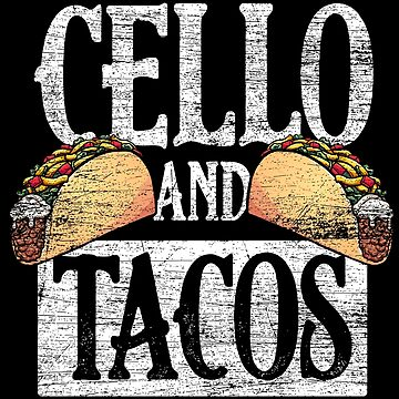Cello tacos by GeschenkIdee