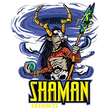Shaman Extracts T-shirt Design Black Magic Rituals Powerful Sorcerer Black Energy Witch Doctor by Customdesign200