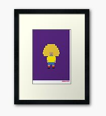 Foot-T 'big hair' Framed Print