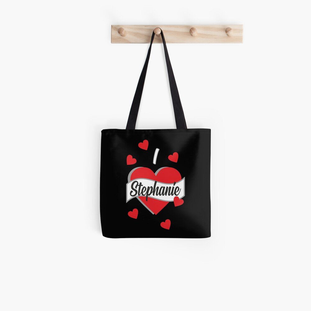 I Love Stephanie Tote Bag