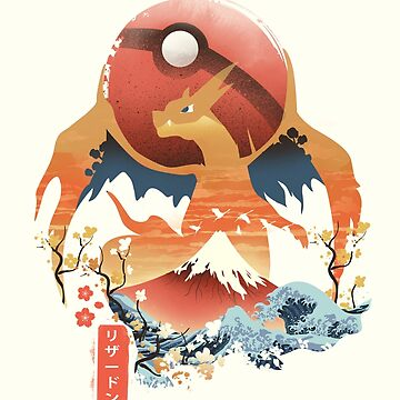 Pokiyo-e Feuermonster von dandingeroz