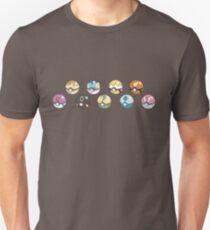 Eeveelution Pokeballs T-Shirt