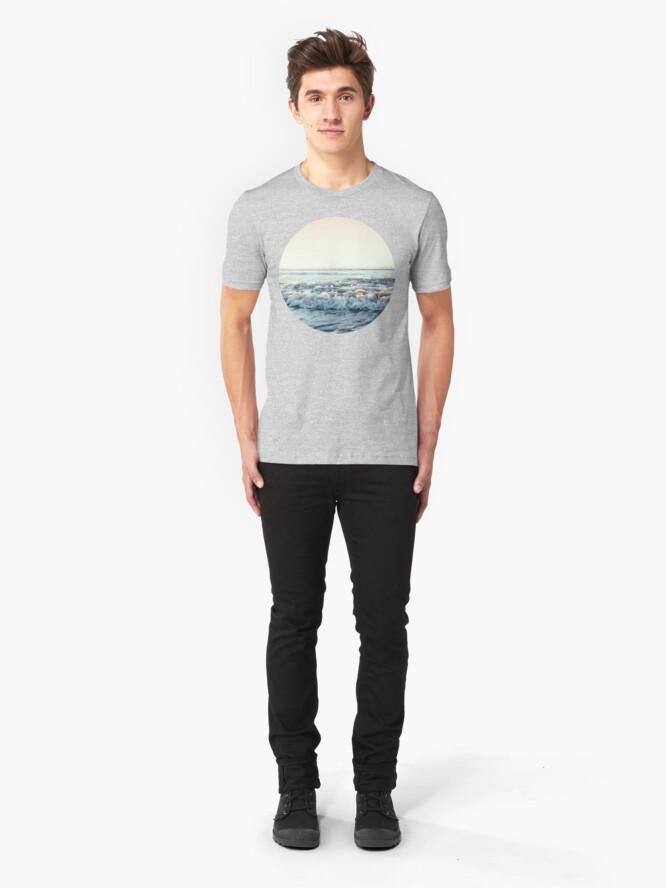Alternate view of Pacific Ocean Slim Fit T-Shirt