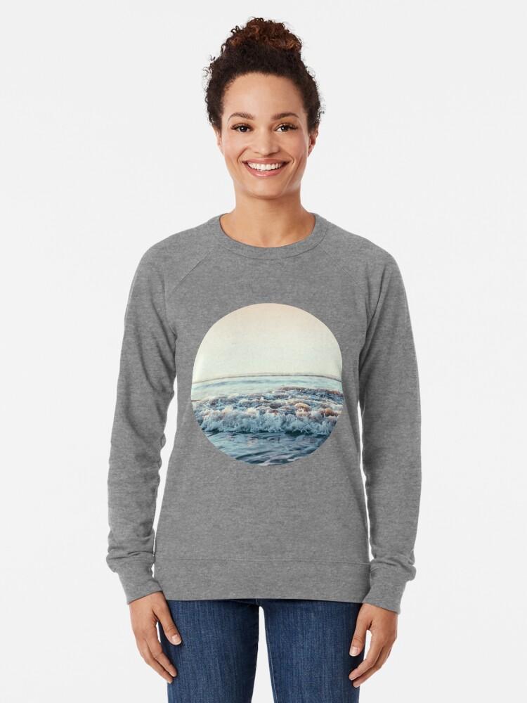 Alternate view of Pacific Ocean Lightweight Sweatshirt
