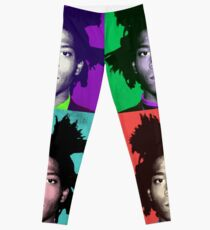 Legging Basquiat pop