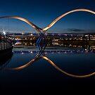 The Infinity Bridge, Stockton on Tees by Dave Hudspeth