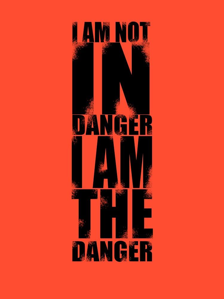 I AM NOT IN DANGER, I AM THE DANGER! by ic3fenix