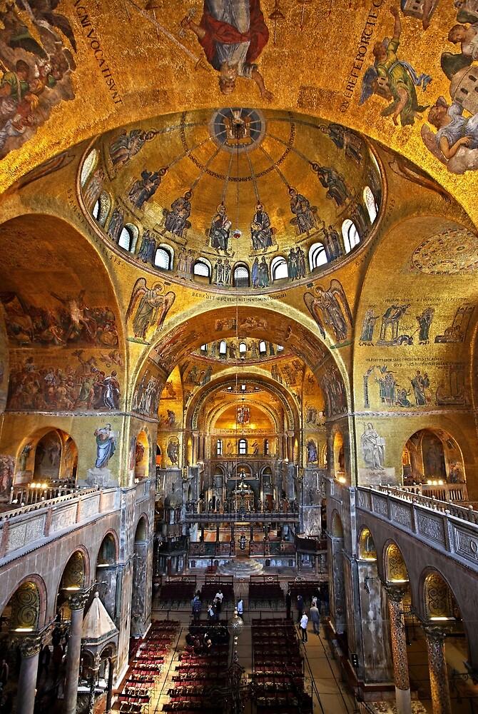 Basilica Di San Marco Venezia By Hercules Milas Redbubble