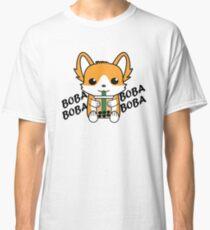 Camiseta clásica Bubble Tea Corgi Boba Corgi