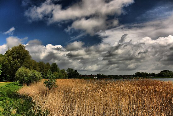 Lakeside Skyscape HDR by Nick Bland