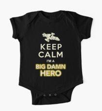 Keep Calm, I'm a Big Damn Hero Firefly Shirt One Piece - Short Sleeve