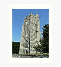Newington Church Tower Art Print