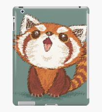 Red panda happy iPad Case/Skin