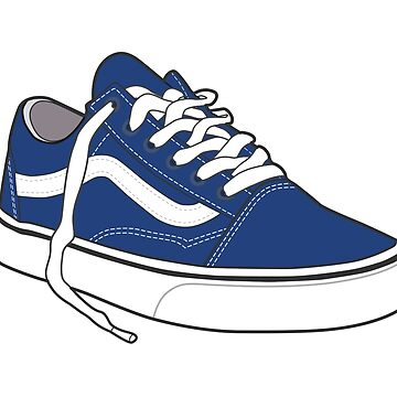 Zapato azul marino popular del patinador retro del vintage de tlaprise