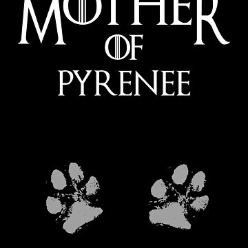 Cute Mother of  Pyrenee, #Pyrenee  by handcraftline