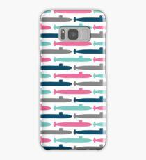 Colorful Submarine Squadron Samsung Galaxy Case/Skin
