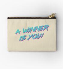A Winner Is You Zipper Pouch