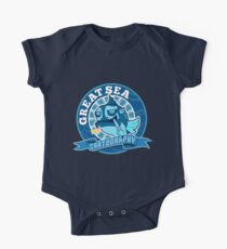 Great Sea Cartography Short Sleeve Baby One-Piece