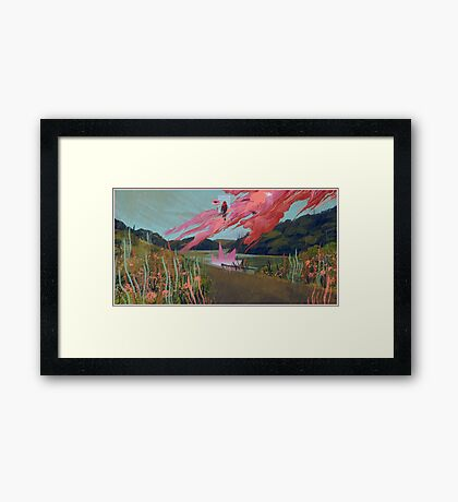Other Ways Out Framed Print