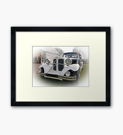 Outside the party Framed Print