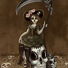 Girl 56   Tarot Inspired Girl by Erica Rosario