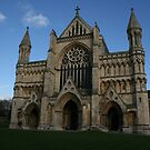 St. Albans Cathedral by weallareone