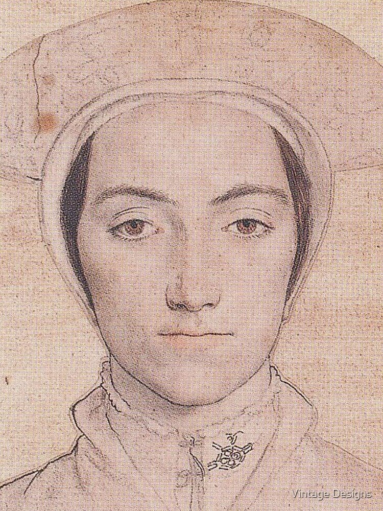 Portrait of a Tudor Woman, by Hans Holbein the Younger by Geekimpact