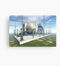 MSTC ( Manipulation of space and time continuum) machine. Canvas Print