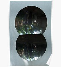 Sculpture by Anish Kapoor, Peggy Guggenheim Collection, Grand Canal, Venice Poster
