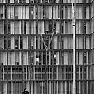 The Library by Victor Pugatschew
