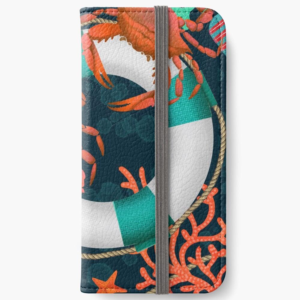 nautical junkyard iPhone Wallet