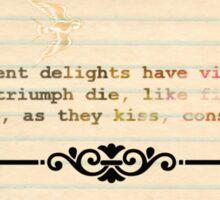 Romeo & Juliet Sticker