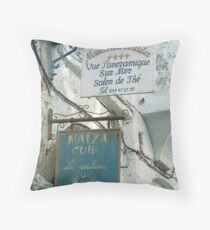 Maghreb Marquee Throw Pillow