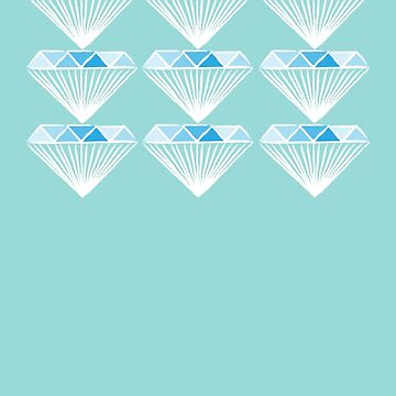 Diamond - Blue and Grey by CorrieJacobs