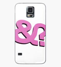 And? &? Ampersand Question Mark - 3D  Pink Logo Original Design Case/Skin for Samsung Galaxy