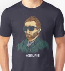 Van Gogh: Master of the Selfie Unisex T-Shirt