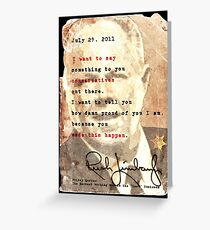 Rush Limbaugh is right Greeting Card