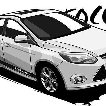 Ford Focus Cartoon by xEver