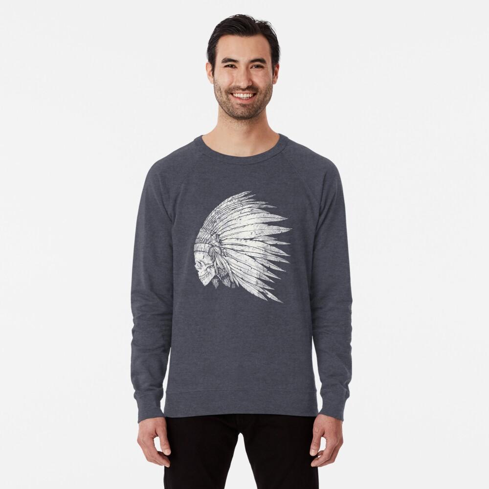 Indian Skull Lightweight Sweatshirt