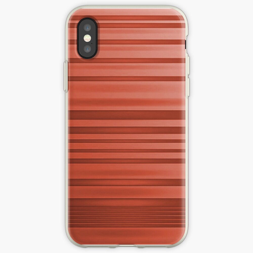 Dusky Red  iPhone Case & Cover