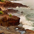 North Shore Shoreline by WolfPause