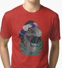 Clever Girl - Blue Tri-blend T-Shirt