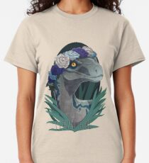 Clever Girl - Blue Classic T-Shirt