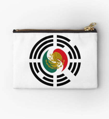 Korean Mexican Multinational Patriot Flag Series Zipper Pouch
