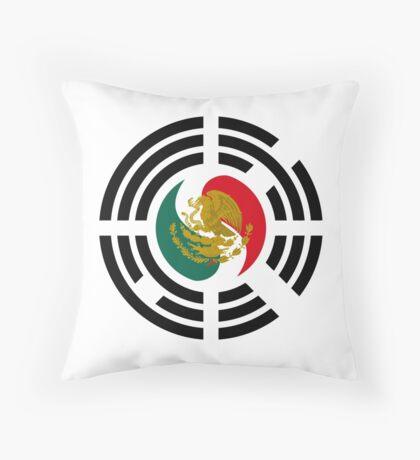 Korean Mexican Multinational Patriot Flag Series Throw Pillow