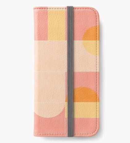 Retro Tiles 02 #redbubble #pattern iPhone Wallet