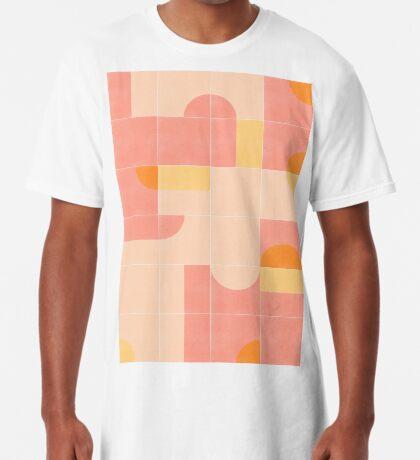 Retro Tiles 02 #redbubble #pattern Long T-Shirt