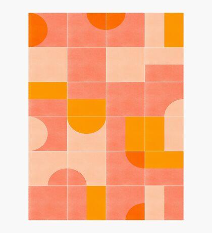 Retro Tiles 03 #redbubble #pattern Photographic Print
