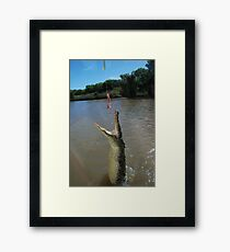 Wrap your jaws around that! Framed Print